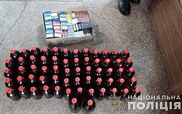300 литров алкоголя и 100 пачек сигарет: полицейские провели рейд в Кривом Роге