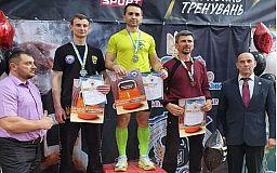 Полицейский из Кривого Рога одержал победу на Всеукраинском чемпионате по гиревому спорту