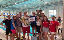 Криворожские пловцы заняли призовые места на чемпионате Украины