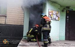 Спасатели в Кривом Роге за 15 минут ликвидировали пожар в жилом доме