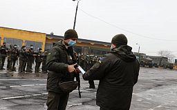 До Кривого Рогу з району ООС повернулися військовослужбовці