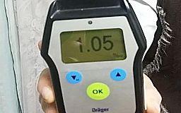 Копы составили протокол на пьяного водителя