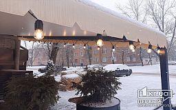В Кривом Роге целый день будет идти снег, — как сейчас выглядит город