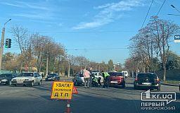 В Кривом Роге столкнулись два автомобиля