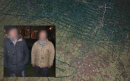 Задержаны двое криворожан, которые хотели сдать забор со спортплощадки на металлолом