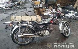 Несовершеннолетний криворожанин угнал мотоцикл, его задержала полиция