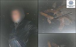Задержаны двое криворожан, которые воровали метал возле больницы