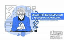 11 квітня - Всесвітній день боротьби з хворобою Паркінсона