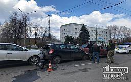 Тройное ДТП случилось на проспекте в Кривом Роге