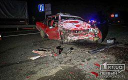Люди пострадали в результате ДТП на трассе под Кривым Рогом