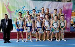 Криворожане завоевали бронзу на чемпионате Украины по прыжкам на батуте