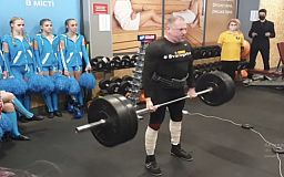 У Кривому Розі спортсмен встановив світовий рекорд
