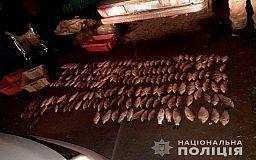 Лодку и три ящика рыбы нашли в машине браконьера в Кривом Роге
