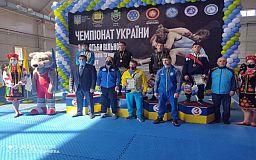 Криворожане завоевали медали на чемпионате Украины по вольной борьбе