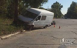 В Кривом Роге на объездной грузовая маршрутка врезалась в дерево