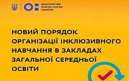 Кабінет міністрів затвердив порядок організації інклюзії в школах
