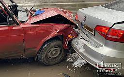 В Кривом Роге ВАЗ догнал Volkswagen