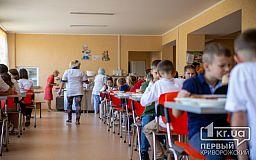 Напої без цукру та можливість обирати: як у криворізьких школах змінили шкільне харчування