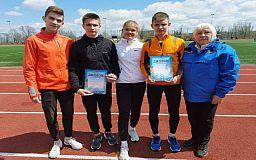 Криворожане стали призерами областного чемпионата по легкой атлетике