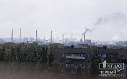 В апреле концентрация пыли и формальдегида в воздухе Кривого Рога снова превышали норму