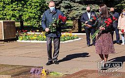 Без речей и музыки: саксаганцы почтили память земляков, погибших во Второй мировой войне