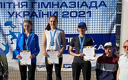 Двое криворожан привезли медали с летней гимназиады Украины по легкой атлетике
