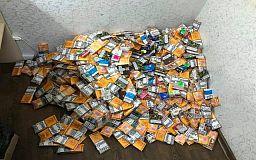 35 литров безакцизного алкоголя и 700 пачек сигарет изъяли криворожские полицейские