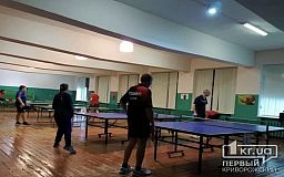 Двухдневный чемпионат по настольному теннису состоялся в Кривом Роге