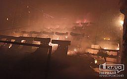 Мини-кинотеатр сгорел в Кривом Роге