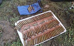 Почти сто боеприпасов изъяли у криворожанина полицейские