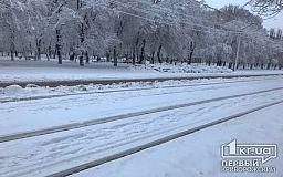 Снегопад в Кривом Роге будут «встречать» 50 единиц техники