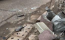 В Кривом Роге авто врезалось в столб