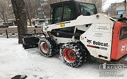 ОНЛАЙН об уборке города: около 5 тысяч человек расчищают улицы Кривого Рога от снега