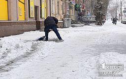 Территорию возле магазинов, закрытых из-за локдауна, должны убрать от снега