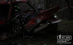 Скончался водитель авто, которое врезалось в столб на ЮГОКе