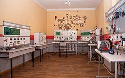 Навчально-практичний центр електротехнічних технологій відкрили у криворізькому ліцеї