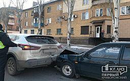 Две аварии произошли на одном участке дороги в Кривом Роге
