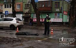 В Кривом Роге грузовик насмерть сбил девушку (исправлено)