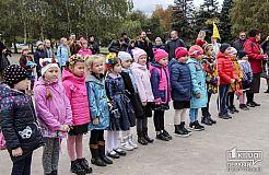 У Кривому Розі дітлахи приєднались до лав пластунів