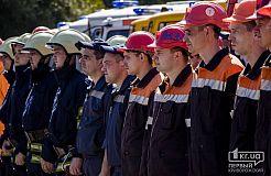 Криворожские спасатели ликвидировали «утечку хлора» на предприятии