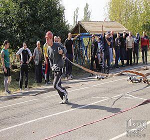 Областные соревнования спасателей по пожарно-прикладному спорту в Кривом Роге