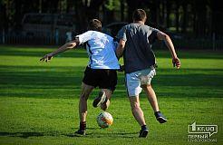 Футбольная суббота в Кривом Роге. Часть 1 (бойцы АТО против волонтеров АТО)