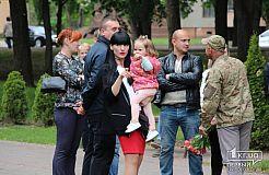 Третья годовщина создания 40-го батальона Кривбасс