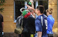 В Криворожском ДЮИ прошли открытые соревнования по гиревому спорту