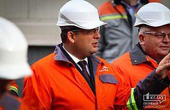 Визит премьер-министра Украины Владимира Гройсмана в Кривой Рог