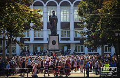Освящение памятника Святителю Николаю.