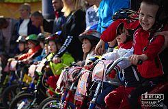 Детские велогонки в Кривом Роге