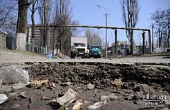 Состояние криворожских дорог продолжает шокировать автолюбителей