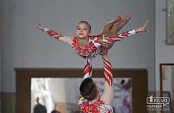 Всеукраинский турнир по спортивной акробатике в Кривом Роге