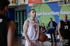 Баскетбольные игры «КГПУ-КНУ» - «Новомосковск» в Кривом Роге